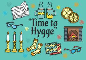 Vecteur d'Hygge