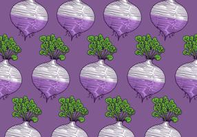 retro turnip pattern