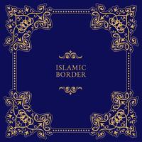 Vector de frontera islámica