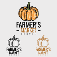 Logotipo do mercado Pumpkin Farmers