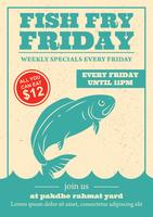 Friday Fish Fry Invitation