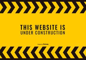 Website Under Construnction Illustration