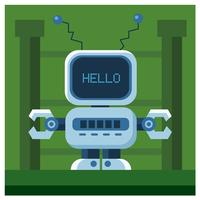 robot karaktärsdesign
