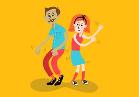 feliz dançando crianças