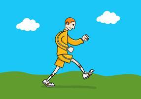 springande man
