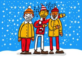 Carolers de Noël