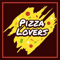 Pizza Lovers Typography