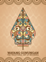 Gunungan Wayang