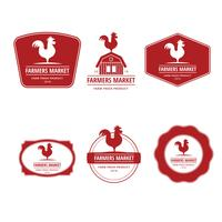 Farmers Market Logo Illustration