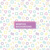 Seamless Memphis Background