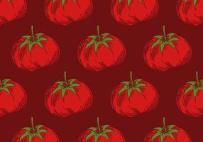 retro tomatenpatroon