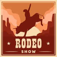 Rodeo Flyer Vorlage
