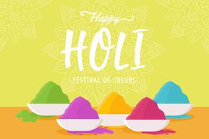 Happy Holi Vectors