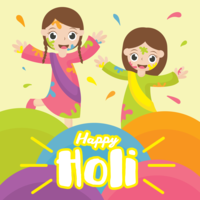 Happy Holi Vector