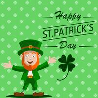 St. Patrick Dag Illustratie Vector