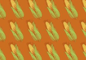 retro corn pattern