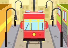 New Orleans Street Car Backrground