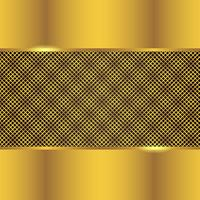 Gold Metal Background vector