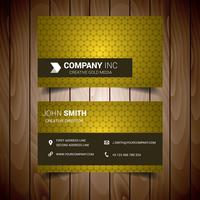 Light Yellow Business Card