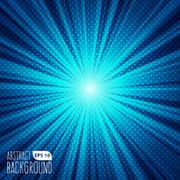 Abstract Blue Flare Background vector