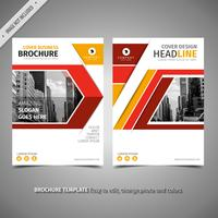 Brochure Simple Jaune