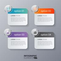 Rounded Rectangle Infographics