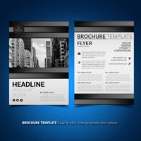 Modèle de Flyer de brochure d'entreprise