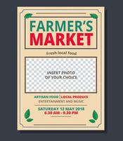 Farmer's Market Flyer Template