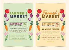 Vector Farmers Market Flyer