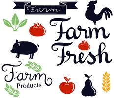 Vetores da fazenda