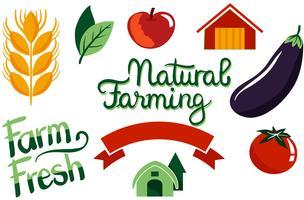 Landwirtschaftliche Vektoren
