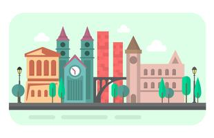 platt stad