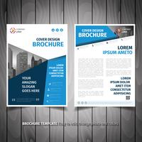 Conception de flyers de brochures commerciales