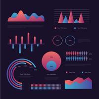 Iconic Data Visualization Vectors