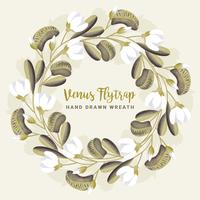 Venus Flytrap Wreath
