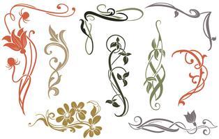 Art Nouveau Vectores
