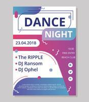 Dance Concert Poster Template