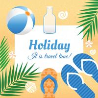 Vector Summer Holiday Illustration