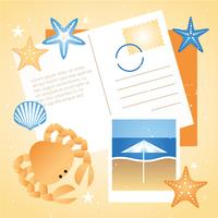 Vector zomer reizen elementen en pictogrammen