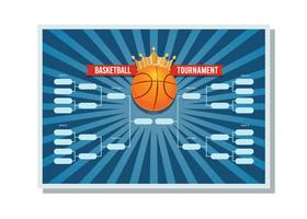 Football Tournament Bracket Poster