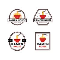 Ramen House Badge Collection