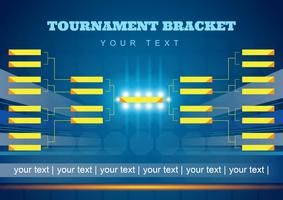 Tournament Bracket Poster