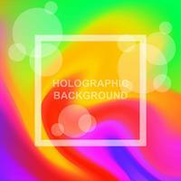 Fondo holográfico vector