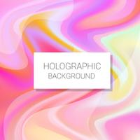 Holographic Background