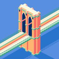 Brooklyn Bridge isometrisch
