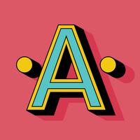 Letter A 5