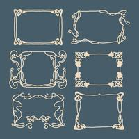 Art Nouveau-frames