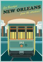 New Orleans City  Streetcar