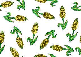 Sorghum Seamless Pattern