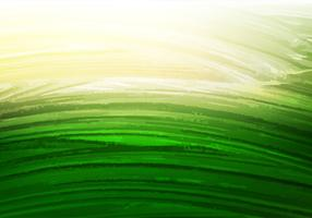 Free Vector Green Watercolor Background